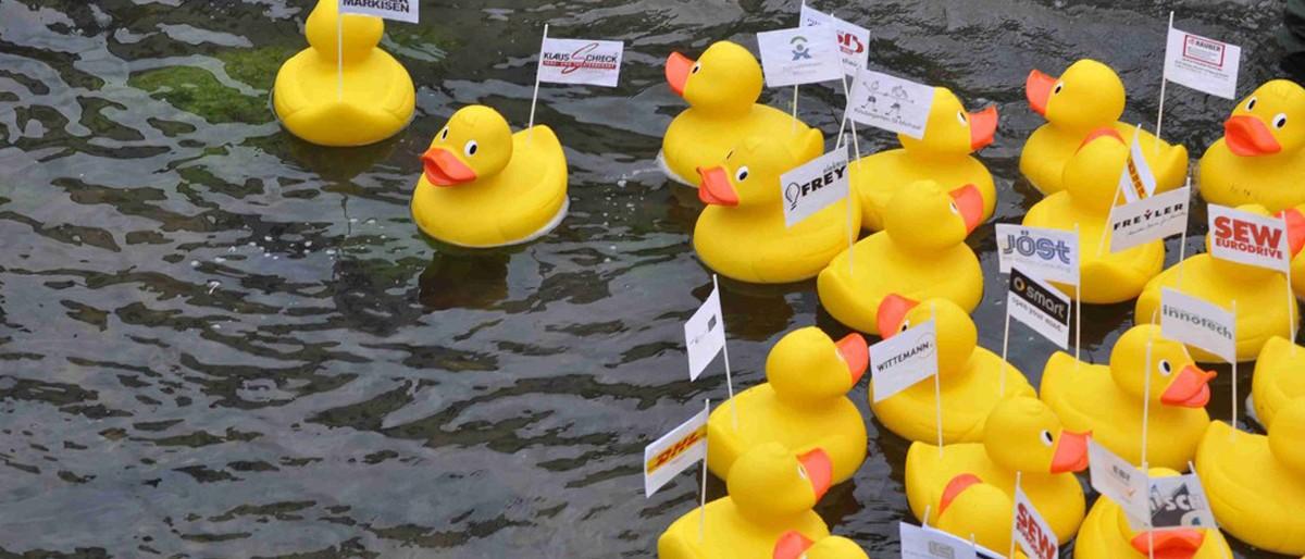 Permalink auf:Entenrennen Bruchsal